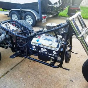 Flanged crossmember and new crate engine