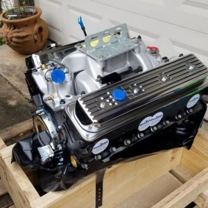 407 HP crate engine